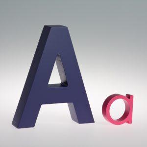AlphaArt Letter A -0