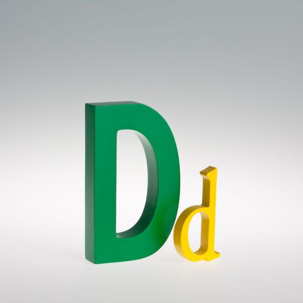 AlphaArt Letter D-0