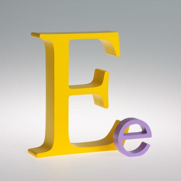 AlphaArt Letter E-0