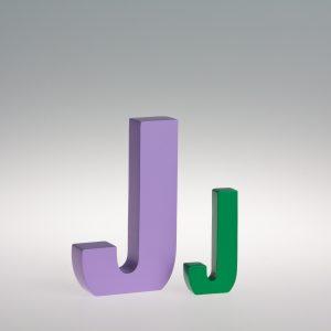 AlphaArt Letter J-0
