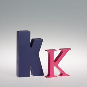 AlphaArt Letter K-0