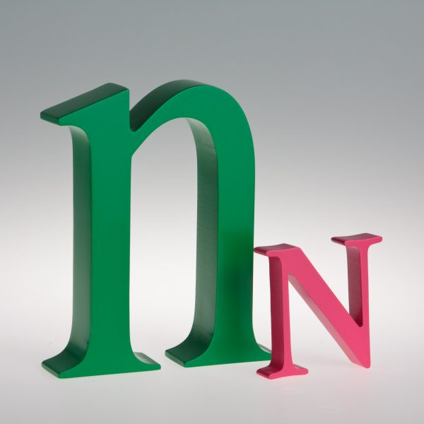 AlphaArt Letter N-0