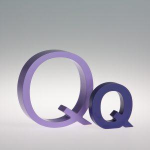 AlphaArt Letter Q-0