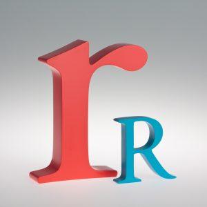 AlphaArt Letter R-0