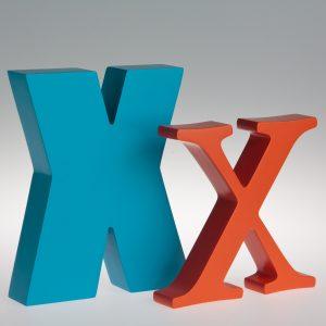 AlphaArt Letter X-0