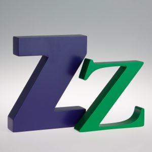 AlphaArt Letter Z-0