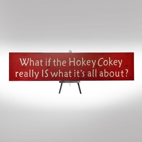 Hokey Cokey Sign-0