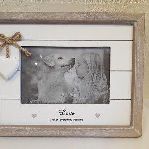 Provence sentiment Love photo frame-0
