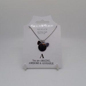 Bijoux Fleur Initial Necklace-0