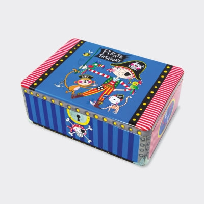 Hinged Tins ‐ Pirate-0