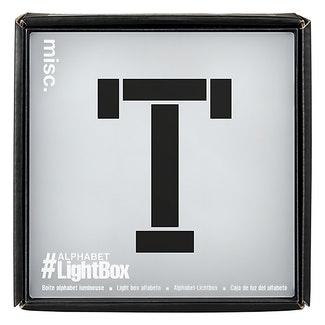 Light Up - Alphabet Letter Lightbox -1863