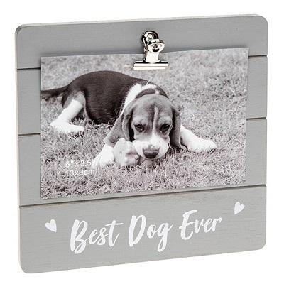 Cutie Clip Picture Frame - Dog-0