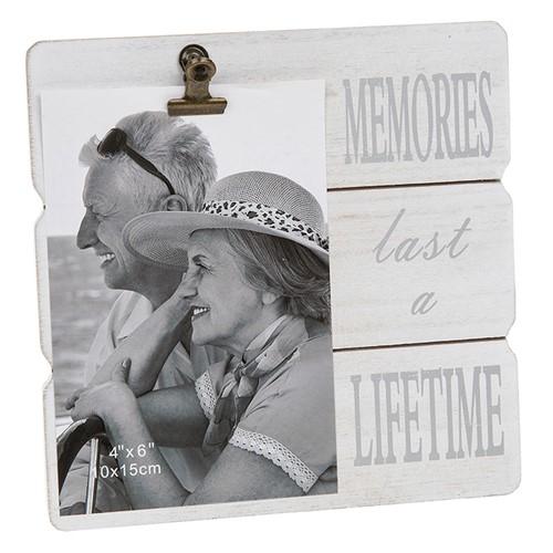 White Message Clip Frame - Memories-0