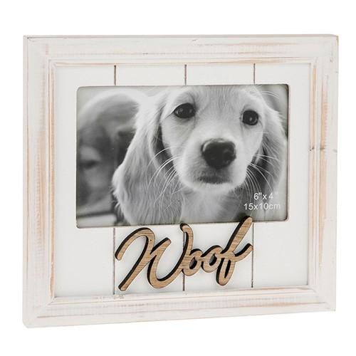 One Word Frame - Dog - Woof-0