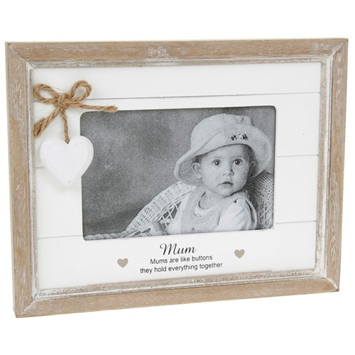 Provence sentiment Mum photo frame-0